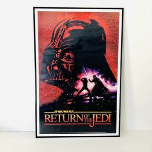 Star Wars Return Of The Jedi Poster HTF